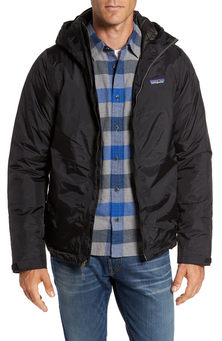PATAGONIA Torrentshell H2No<sup>®</sup> Packable Insulated Rain Jacket, Main, color, BLACK