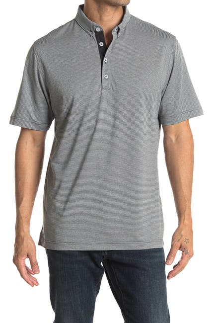 Image of Adidas Golf Adipure Double-Dyed Ottoman Polo Shirt