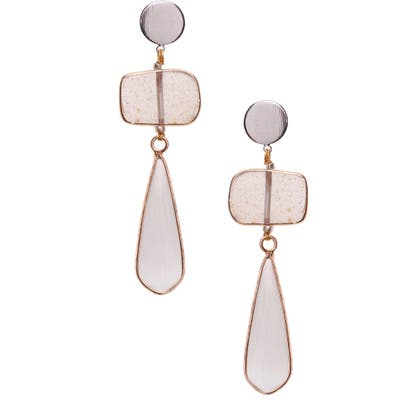 Nakamol Design Quartz Drop Earrings