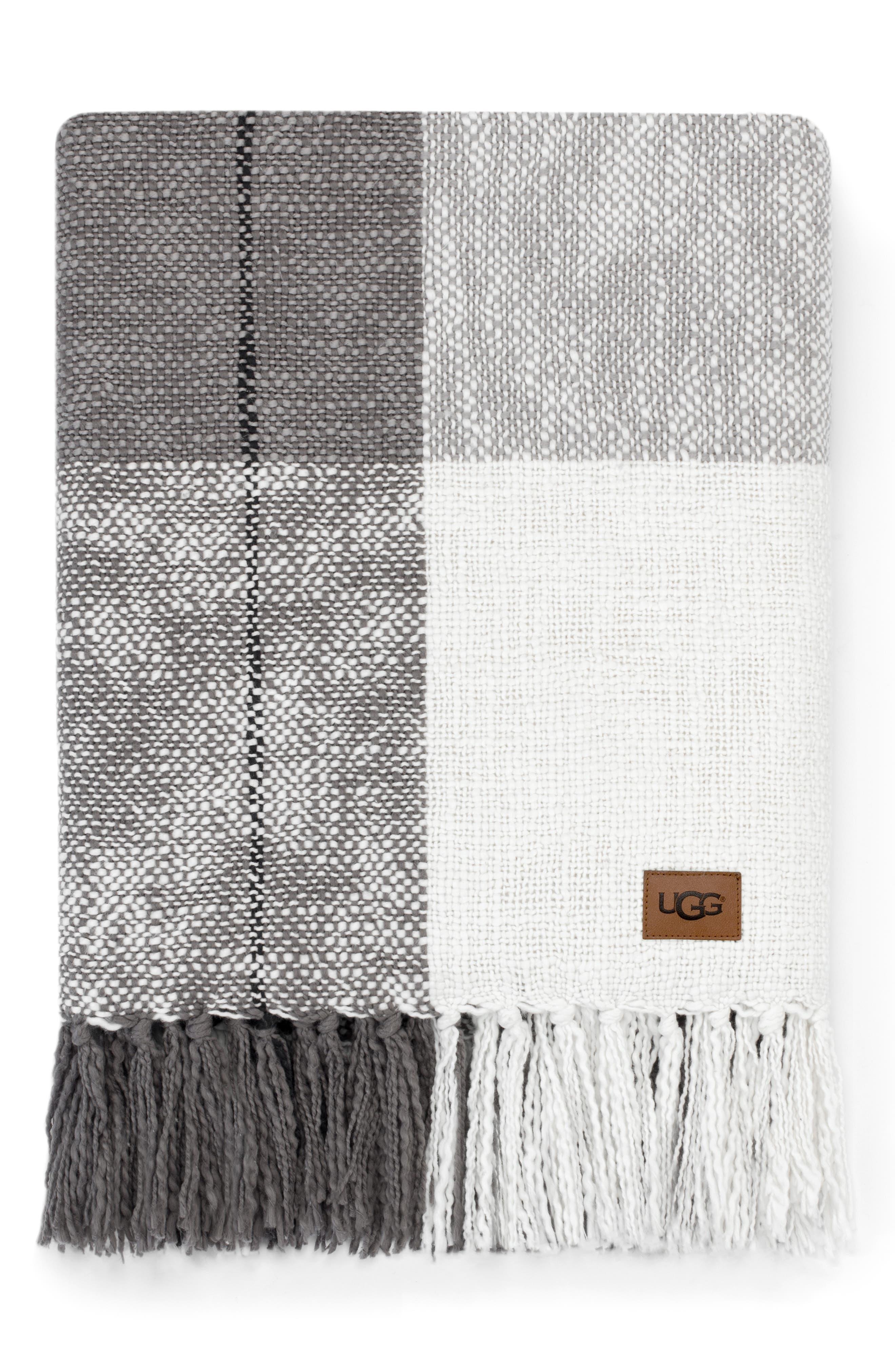 Benson Throw Blanket, Main, color, SEAL MULTI