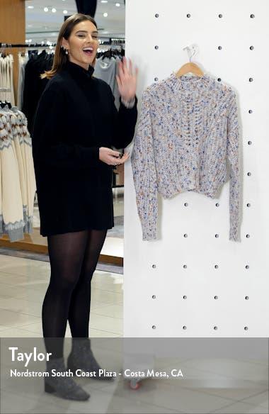 Textured Pointelle Sweater, sales video thumbnail
