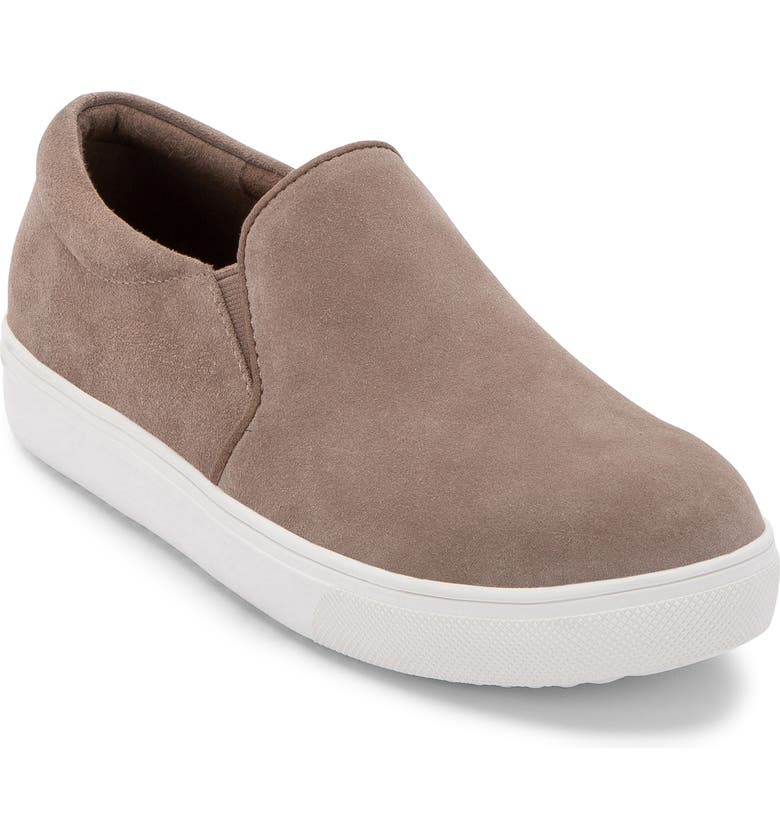 BLONDO Gracie 2.0 Waterproof Slip-On Sneaker, Main, color, MUSHROOM SUEDE
