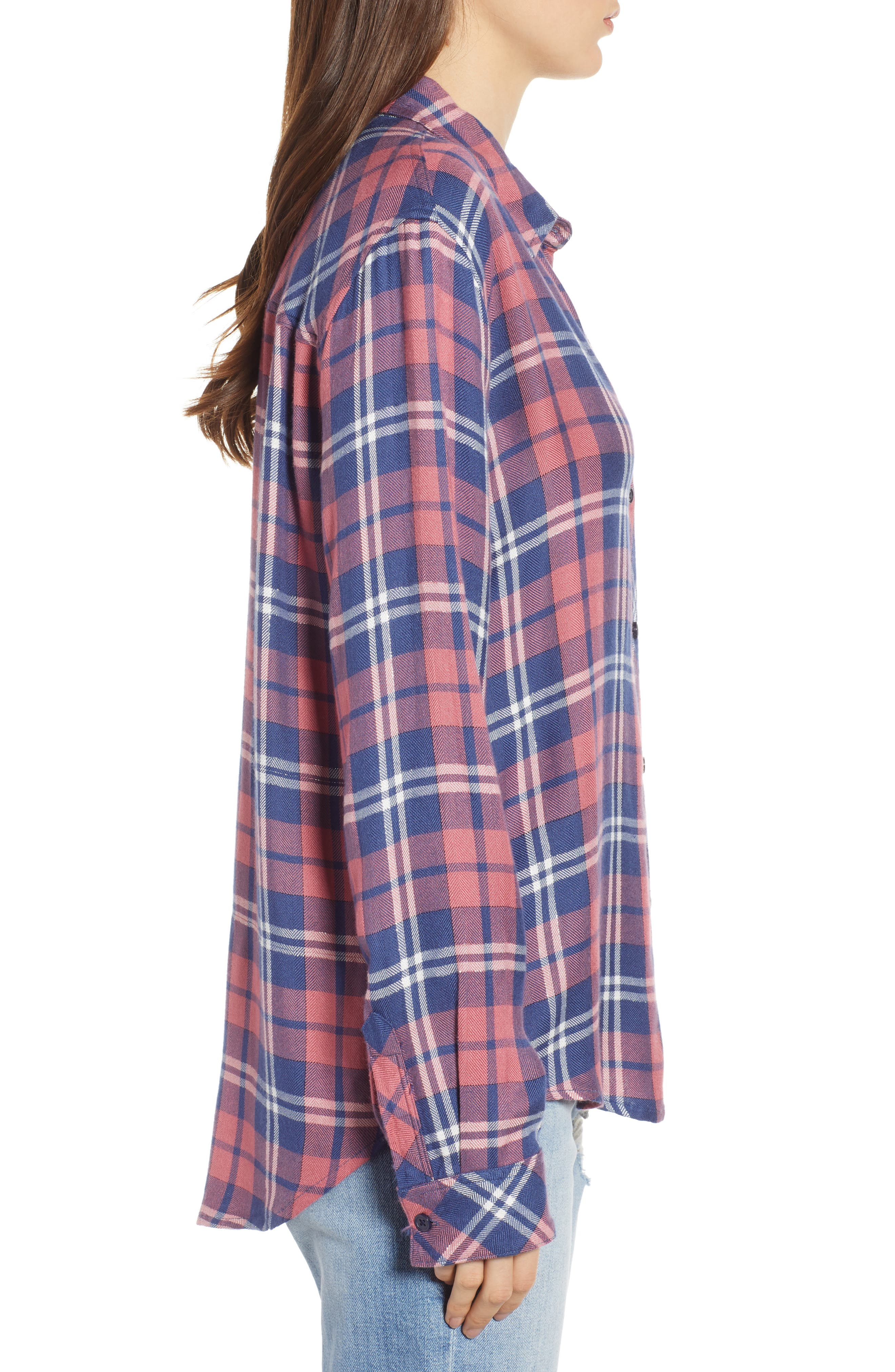 ,                             Hunter Plaid Shirt,                             Alternate thumbnail 425, color,                             603