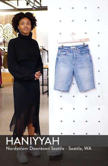 Beverly Bermuda Denim Shorts, sales video thumbnail