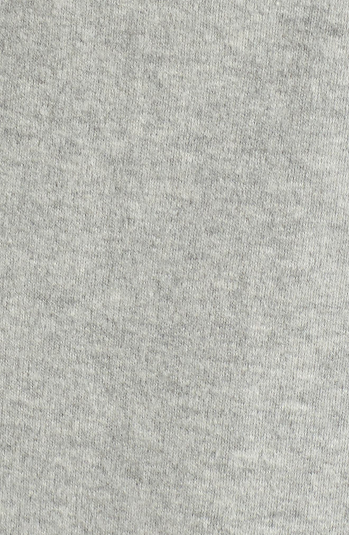 ,                             Shawl Collar Robe,                             Alternate thumbnail 5, color,                             HEATHER GREY