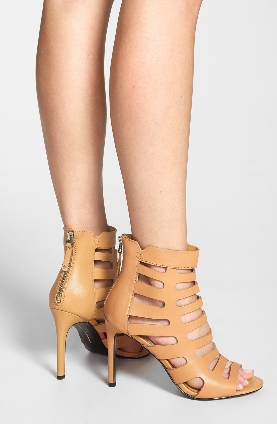 ,                             'Hettie' Leather Sandal,                             Alternate thumbnail 10, color,                             290