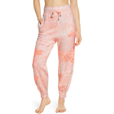 Free People Fp Movement Sun & Done Sweatpants, Orange