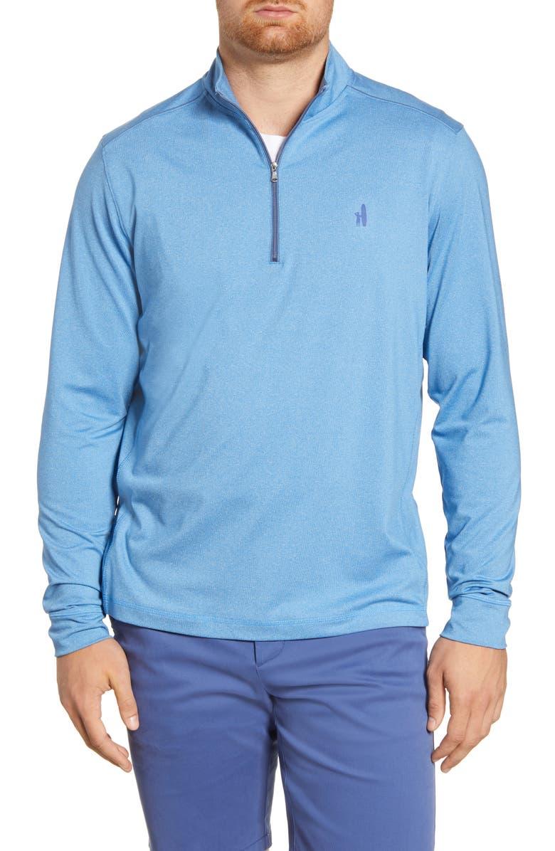 JOHNNIE-O Lammie Regular Fit Quarter Zip Prep-Formance Pullover, Main, color, ADRIFT