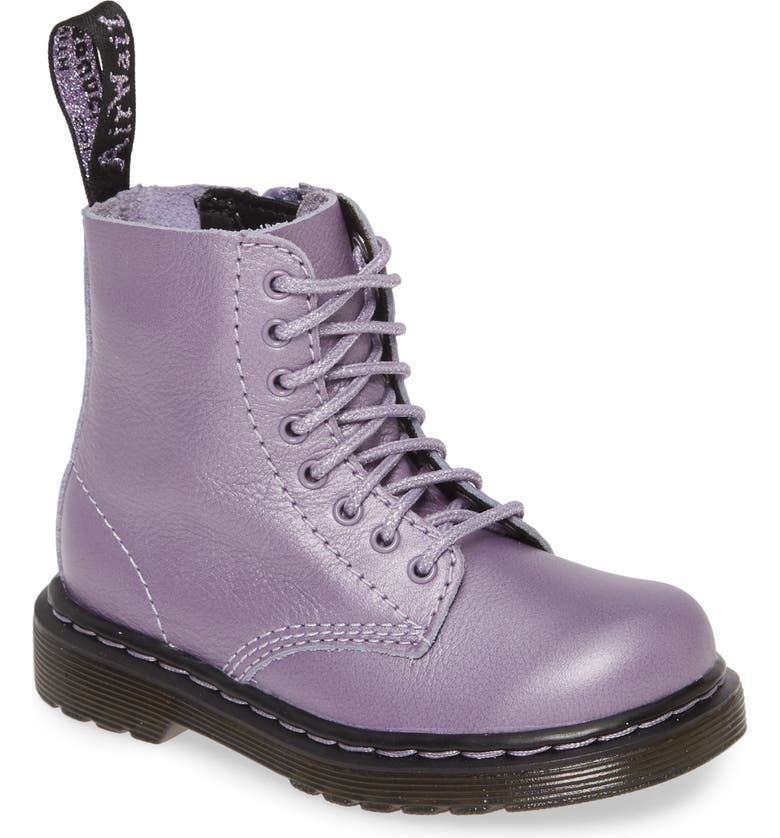 DR. MARTENS 1460 Pascal Metallic Boot, Main, color, 500