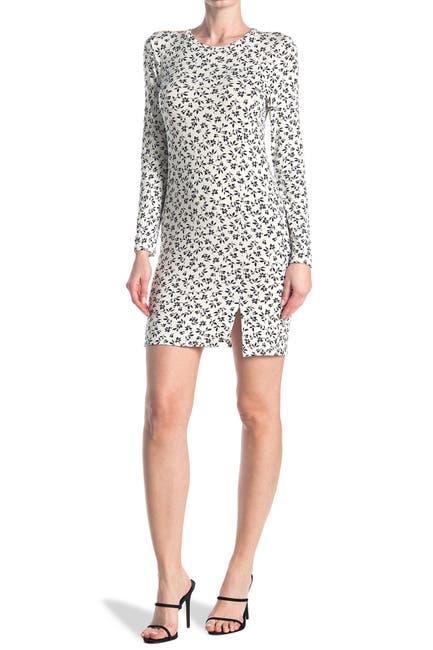 Image of Velvet Torch Long Sleeve Mini Dress