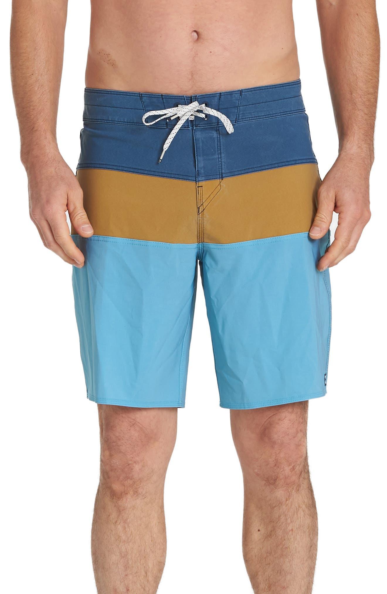 Billabong Tribong Pro Board Shorts, Yellow