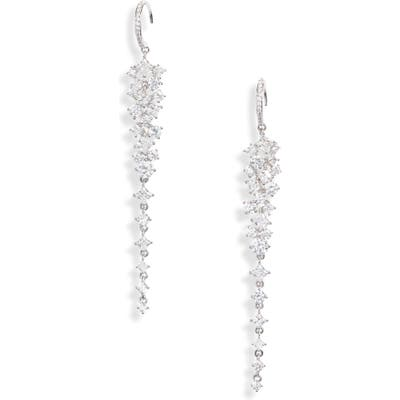 Nadri Bouquet Linear Earrings