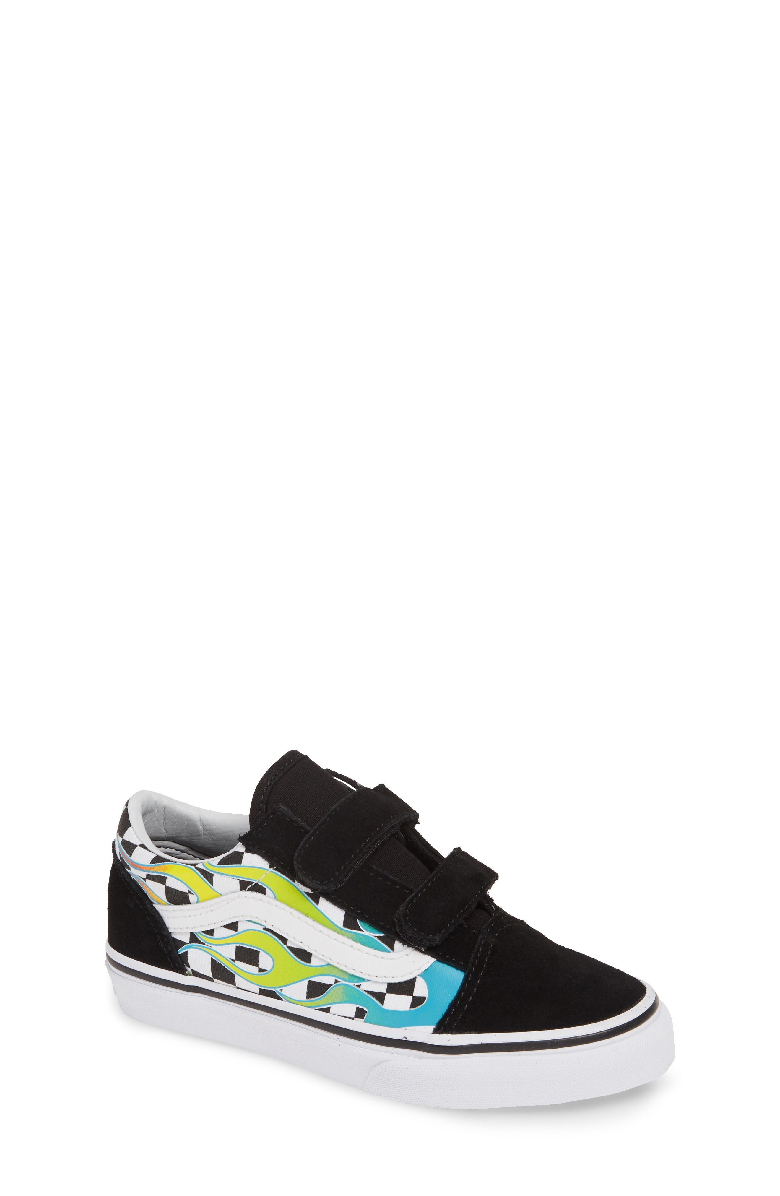 Old Skool V Sneaker, Main, color, SCUBA BLUE/ BLACK
