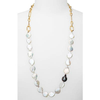 Lizzie Fortunato Baroque Pearl Necklace