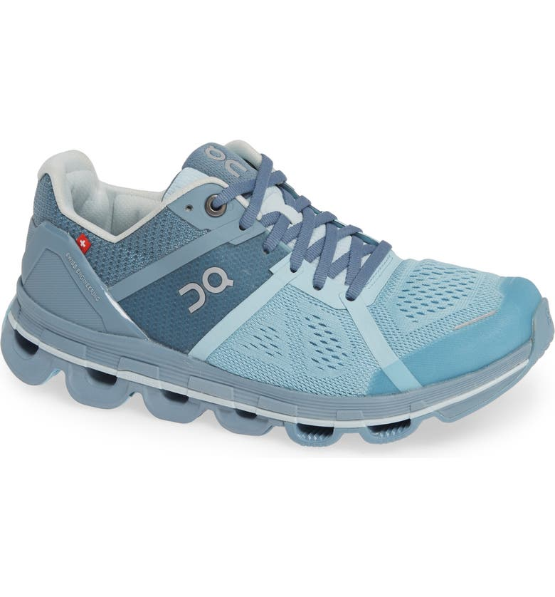 ON Cloudace Running Shoe, Main, color, AQUA/ WASH