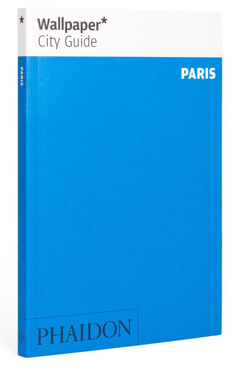 PHAIDON PRESS 'Wallpaper* City Guide Paris' Pocket Size Travel Book, Main, color, BLUE