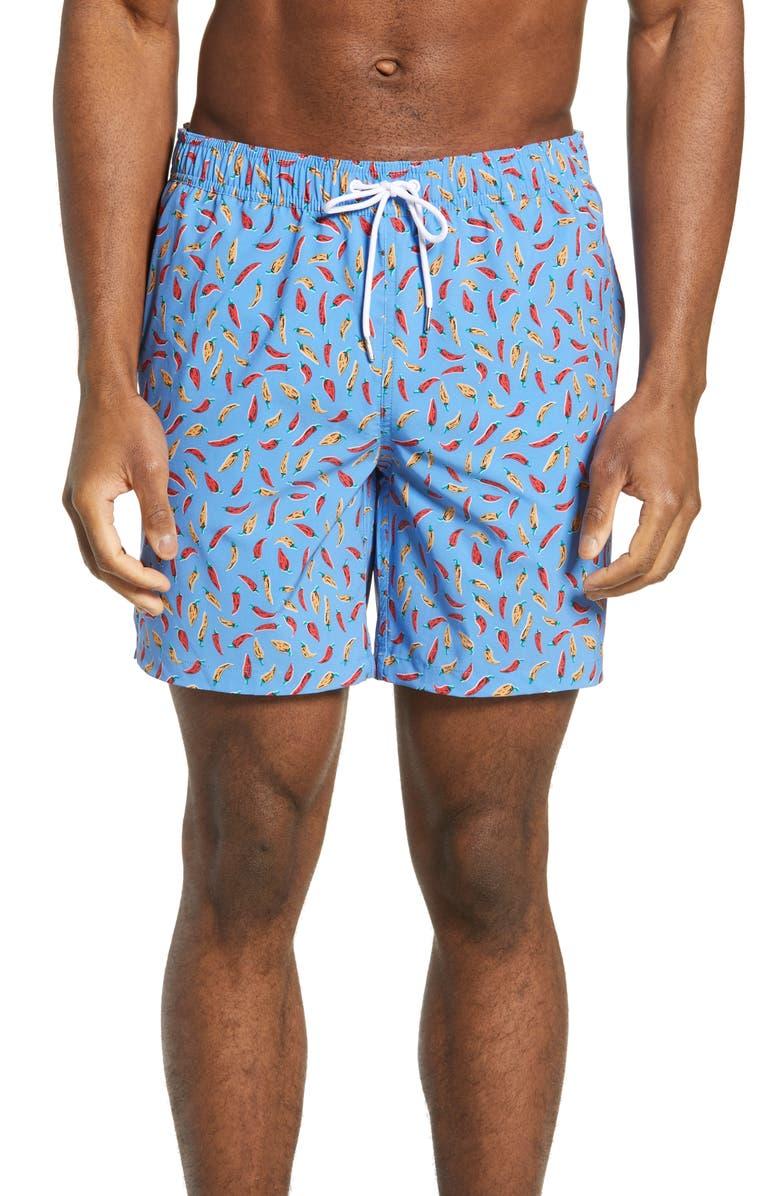 BONOBOS E-Waist 7-Inch Swim Trunks, Main, color, 400