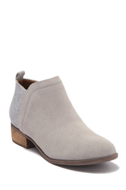 Image of TOMS Deia Suede Ankle Bootie