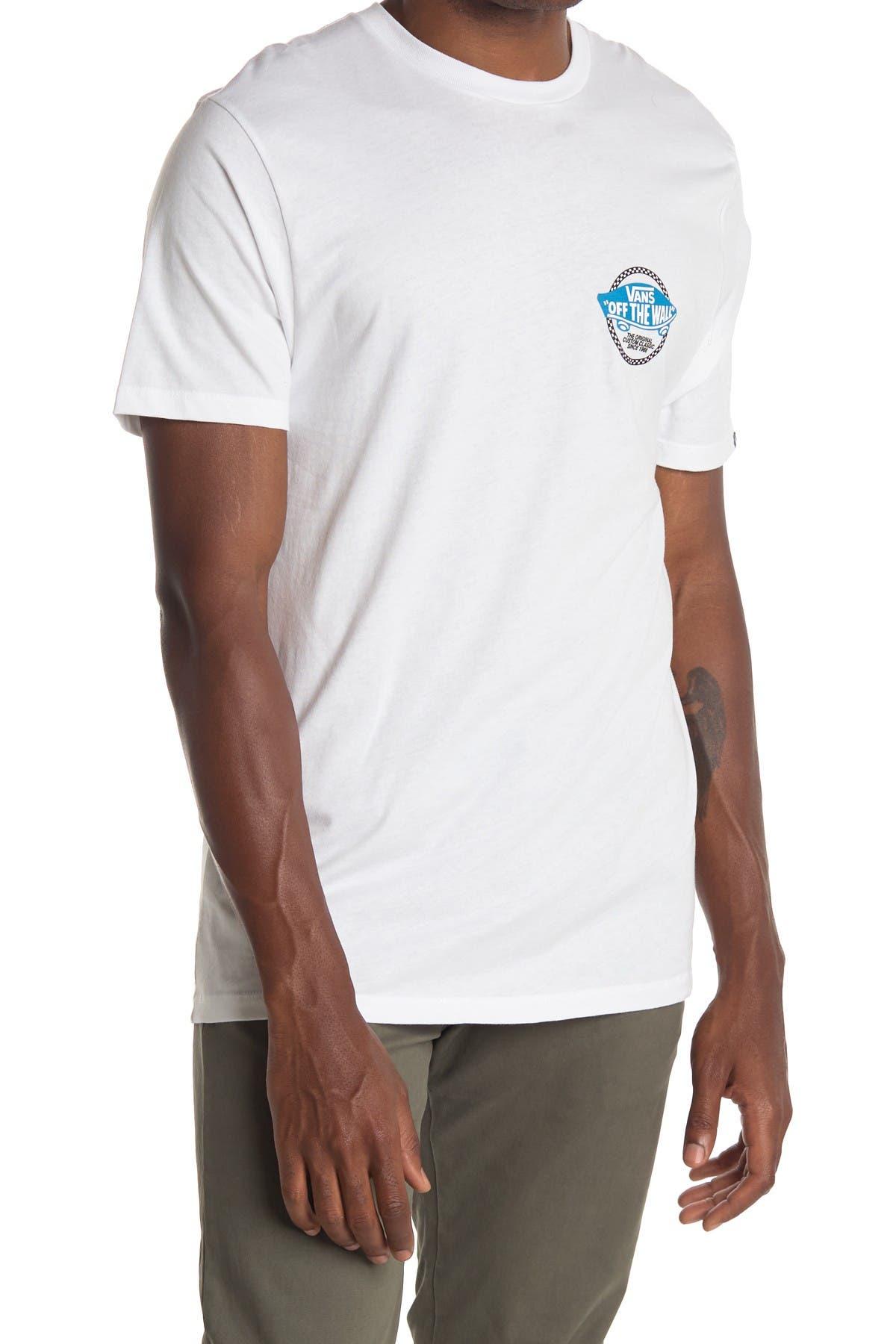 Image of VANS Checker Off The Wall Logo T-Shirt