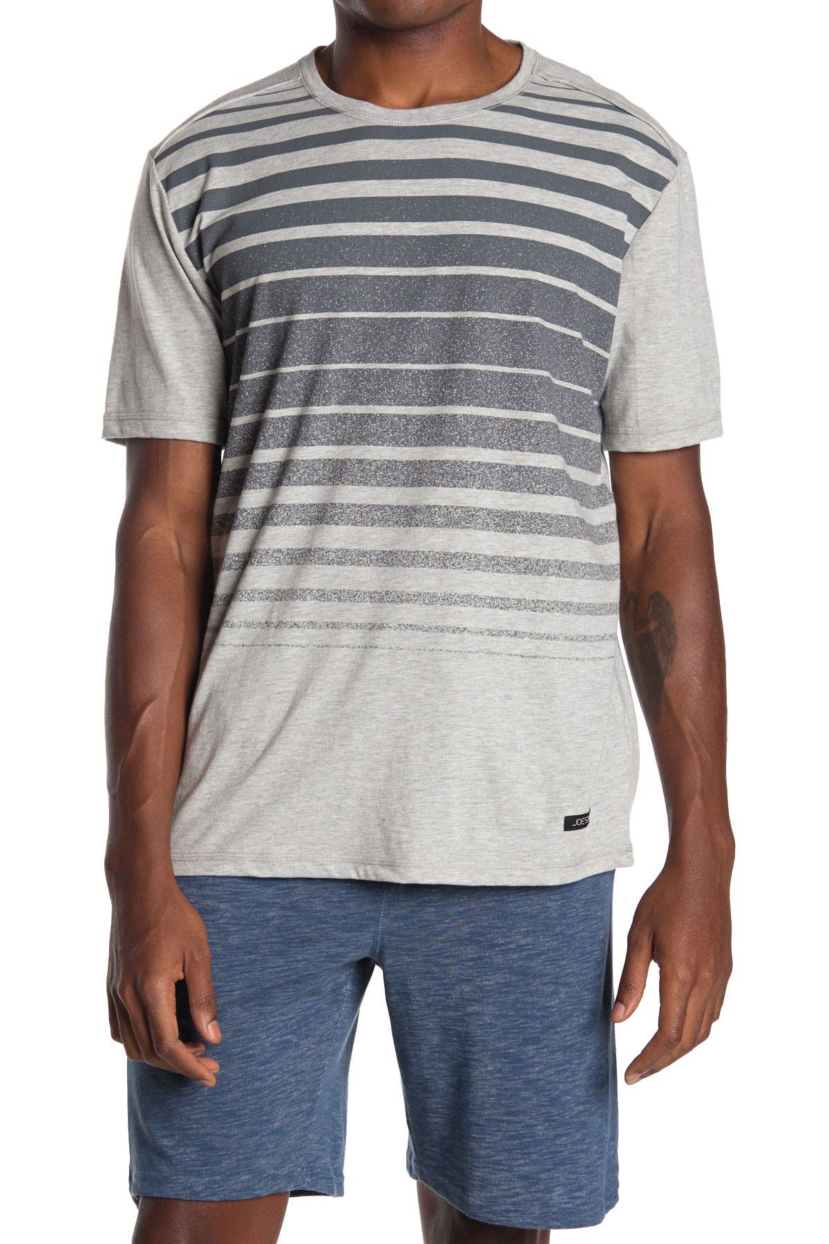 Image of Joe's Jeans Fading Stripe T-Shirt