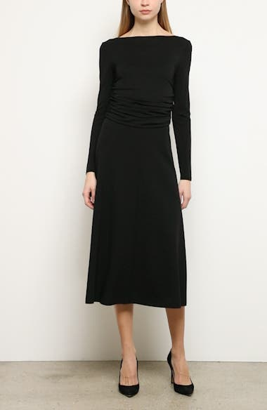 Tirreno Long Sleeve Midi Dress, video thumbnail