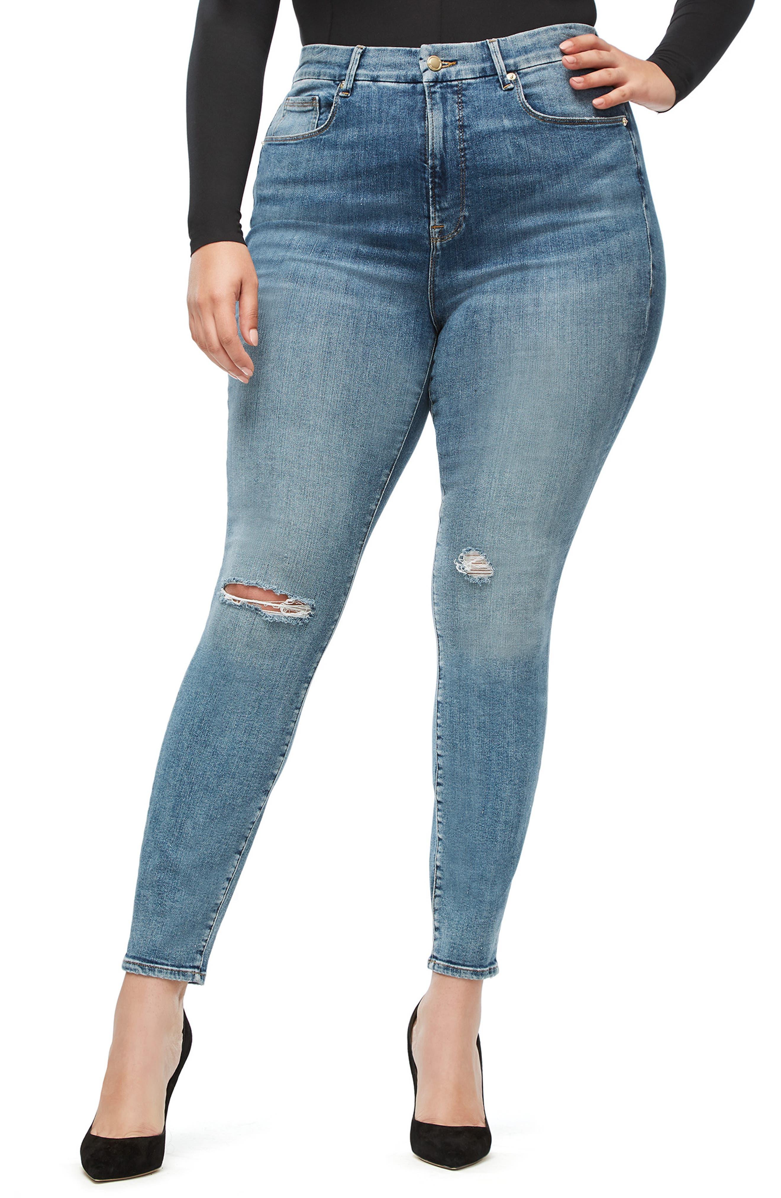 ,                             Good Legs High Waist Skinny Jeans,                             Alternate thumbnail 49, color,                             407