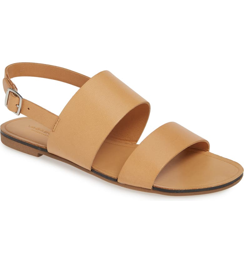 VAGABOND SHOEMAKERS Tia Slingback Sandal, Main, color, LIGHT SADDLE LEATHER