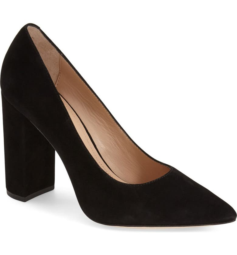 POUR LA VICTOIRE 'Celina' Pointy Toe Pump, Main, color, 001