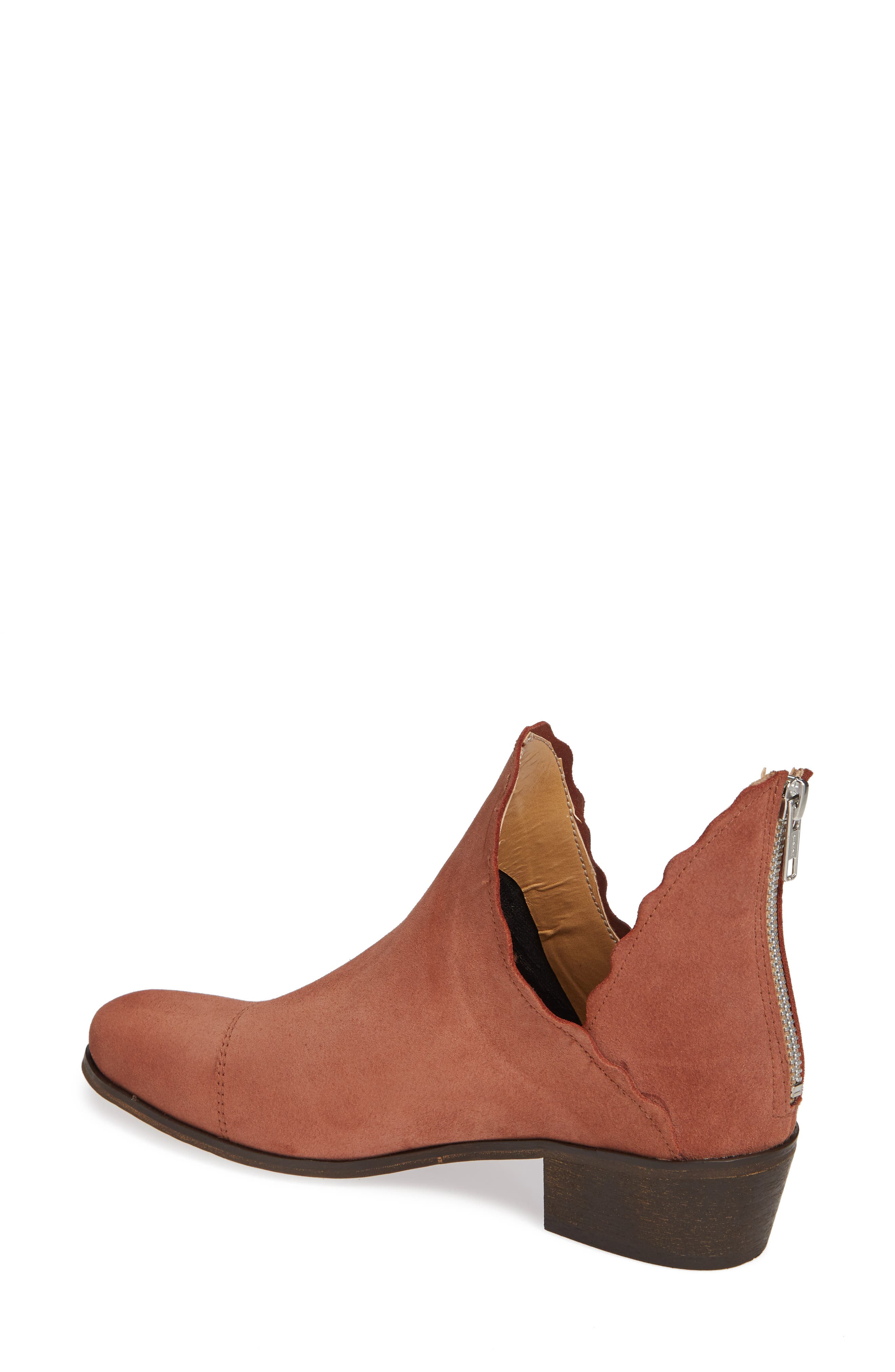 ,                             Bae Scalloped Bootie,                             Alternate thumbnail 2, color,                             TERRACOTTA SUEDE