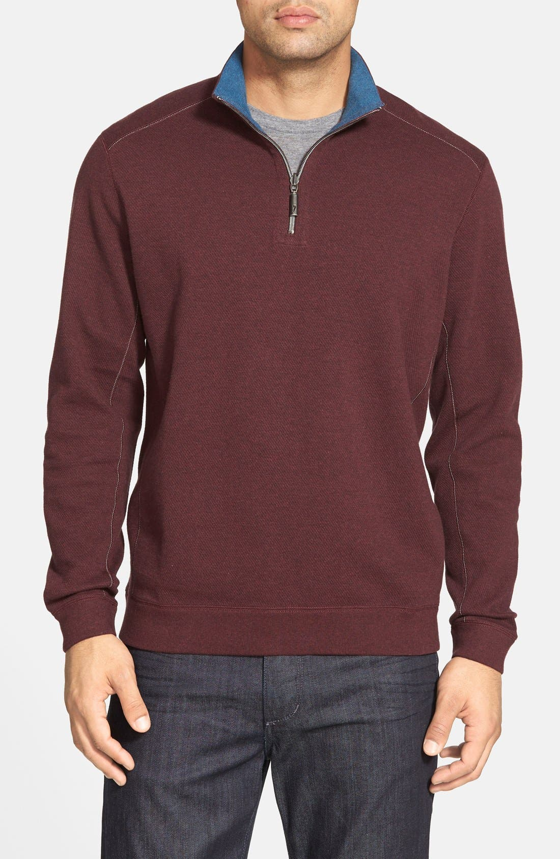 ,                             'Flip Side' Reversible Quarter Zip Pullover,                             Main thumbnail 83, color,                             501