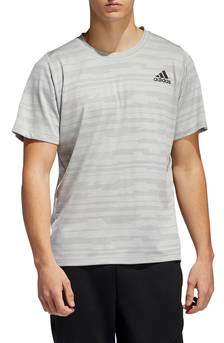 ADIDAS Climalite<sup>®</sup> T-Shirt, Main, color, SOLID GREY