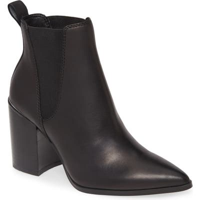Steve Madden Knoxi Pointed Toe Bootie- Black