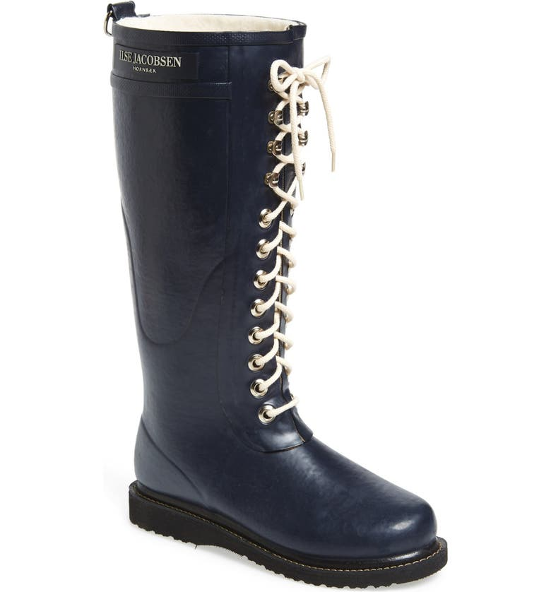 ILSE JACOBSEN Rubber Boot, Main, color, DARK INDIGO