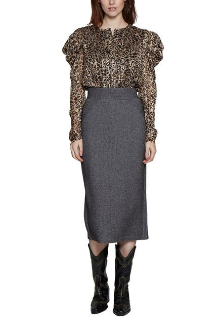 Image of Walter Baker Alisha Midi Skirt