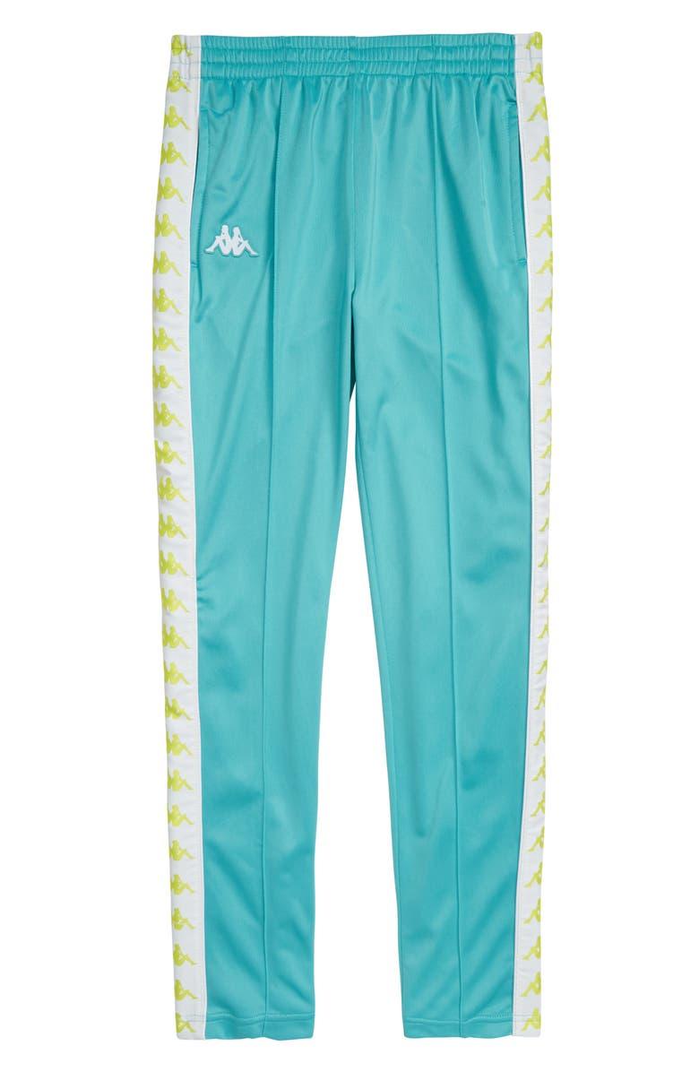 KAPPA 222 Banda Astoriaz Athletic Sweatpants, Main, color, GREEN LT/ WHITE