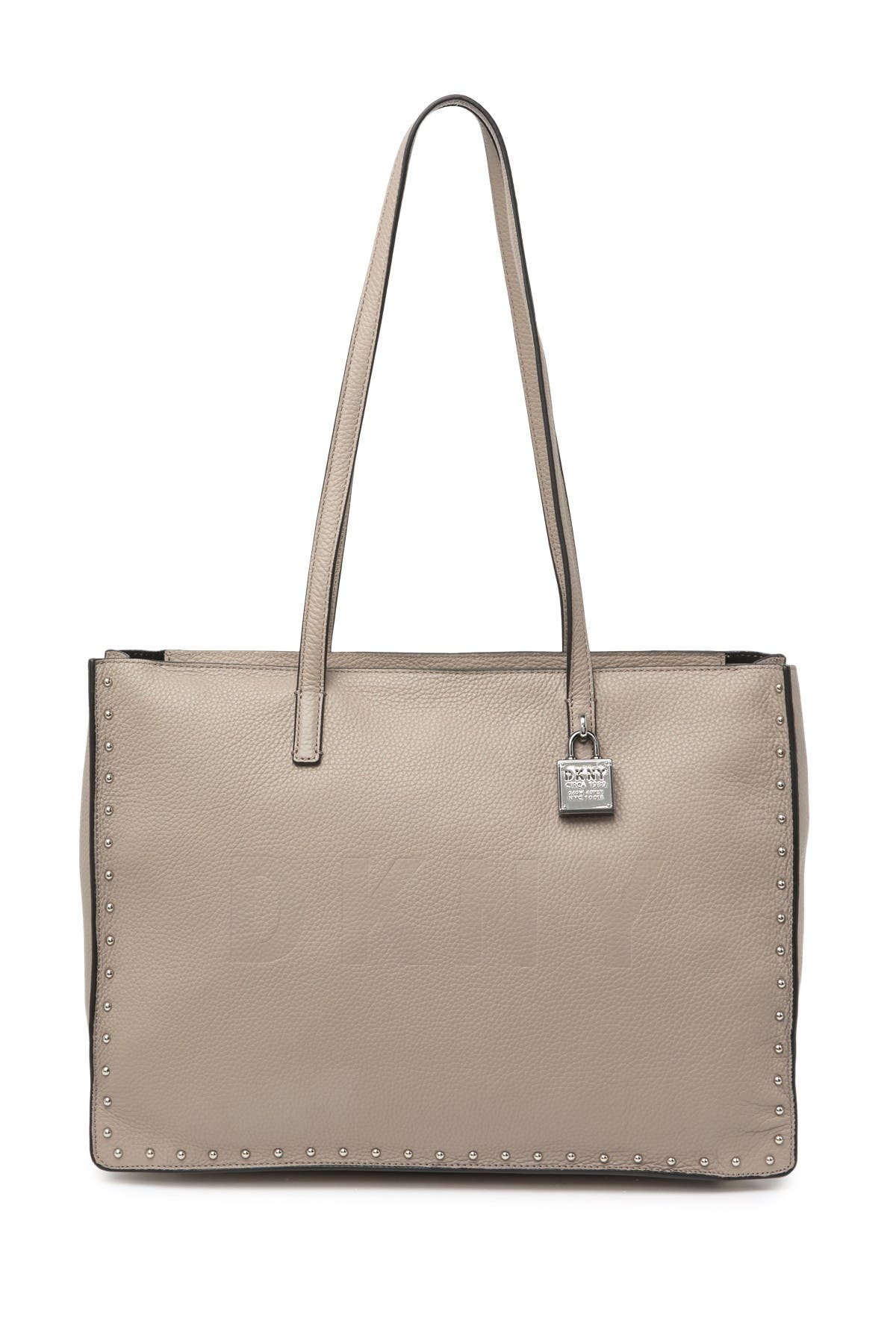 Image of DKNY Commuter Large Logo Tote Bag