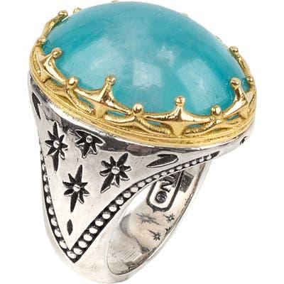 Konstantino Astria Aquamarine Ring