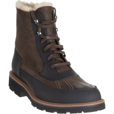 Ross & Snow Phillipe Waterproof Boot, Brown