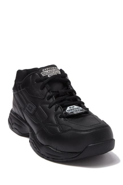 Image of Skechers Relaxed Fit Felton Slip Resistant Sneaker - Wide Width Available