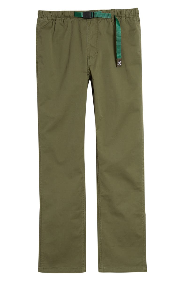 GRAMICCI NN Stretch Cotton Twill Pants, Main, color, OLIVE