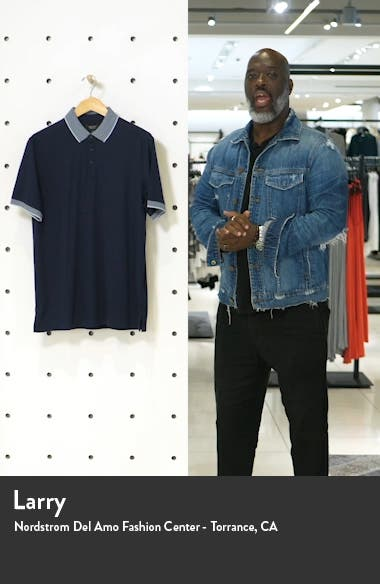 Nordstrom Short Sleeve Tipped Polo, sales video thumbnail
