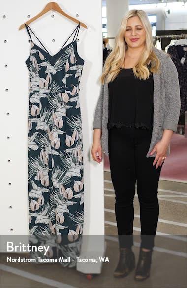 Nissa Floral Jumpsuit, sales video thumbnail