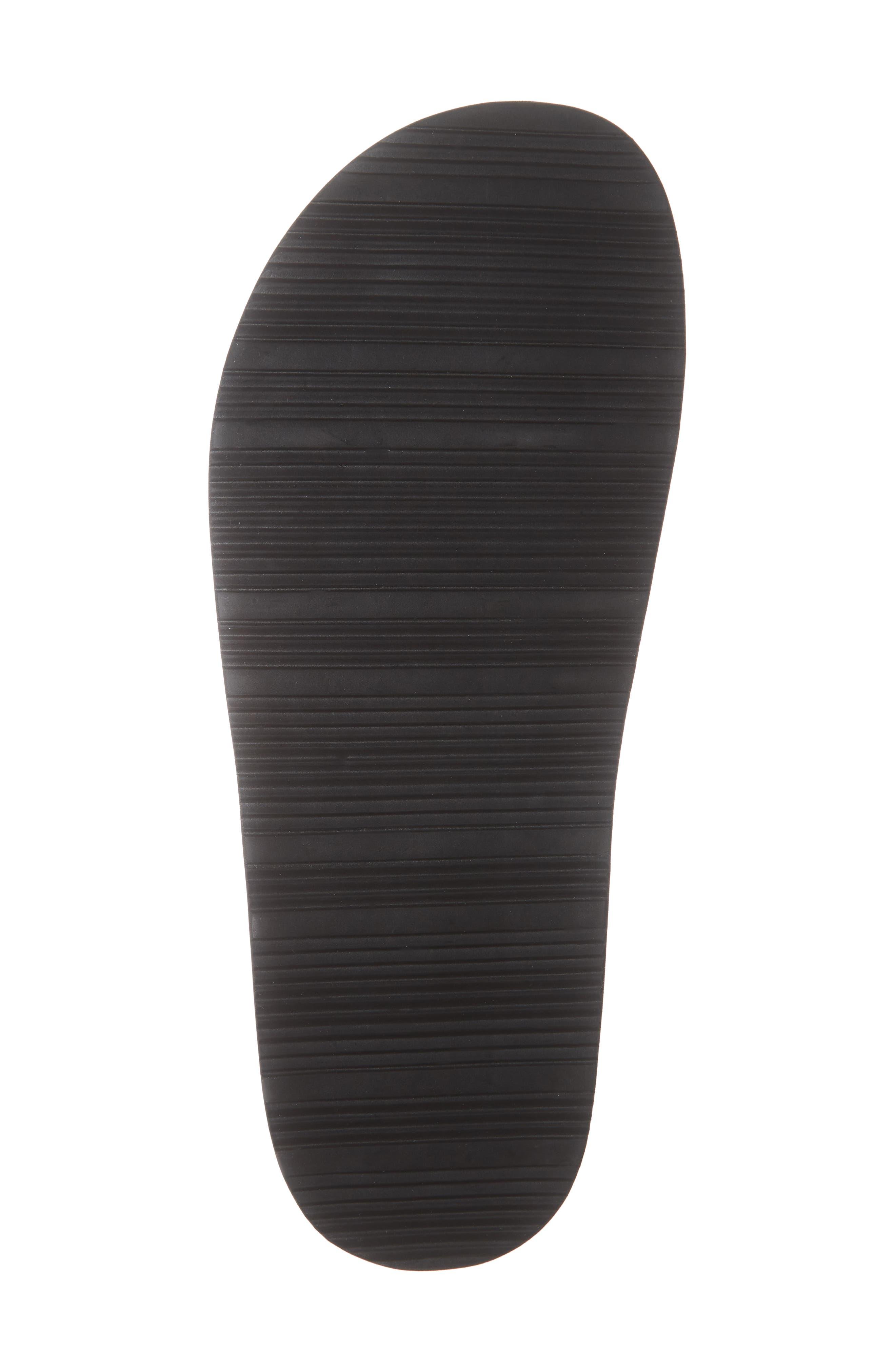 ,                             Mackee Slide Sandal,                             Alternate thumbnail 6, color,                             BLACK
