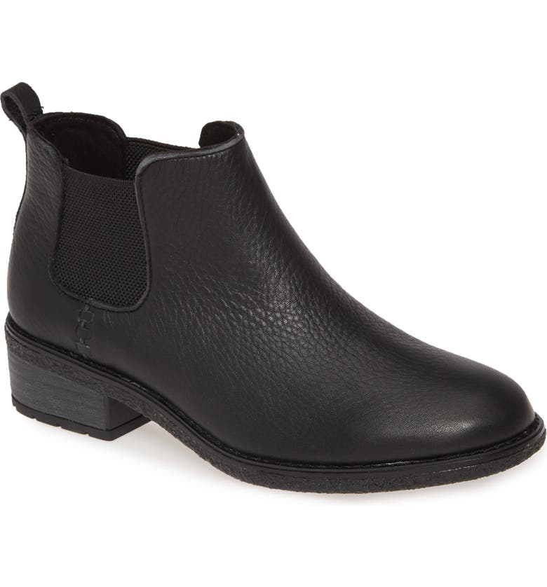 SPERRY Maya Chelsea Boot, Main, color, BLACK LEATHER