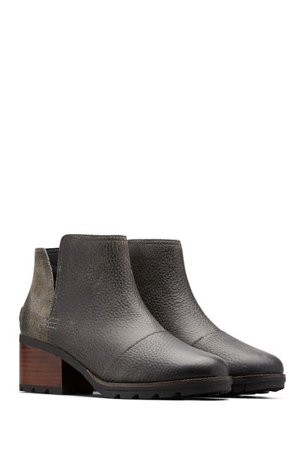 Image of Sorel Cate Cutout Leather Boot