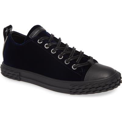 Giuseppe Zanotti Double Lace Sneaker, Blue