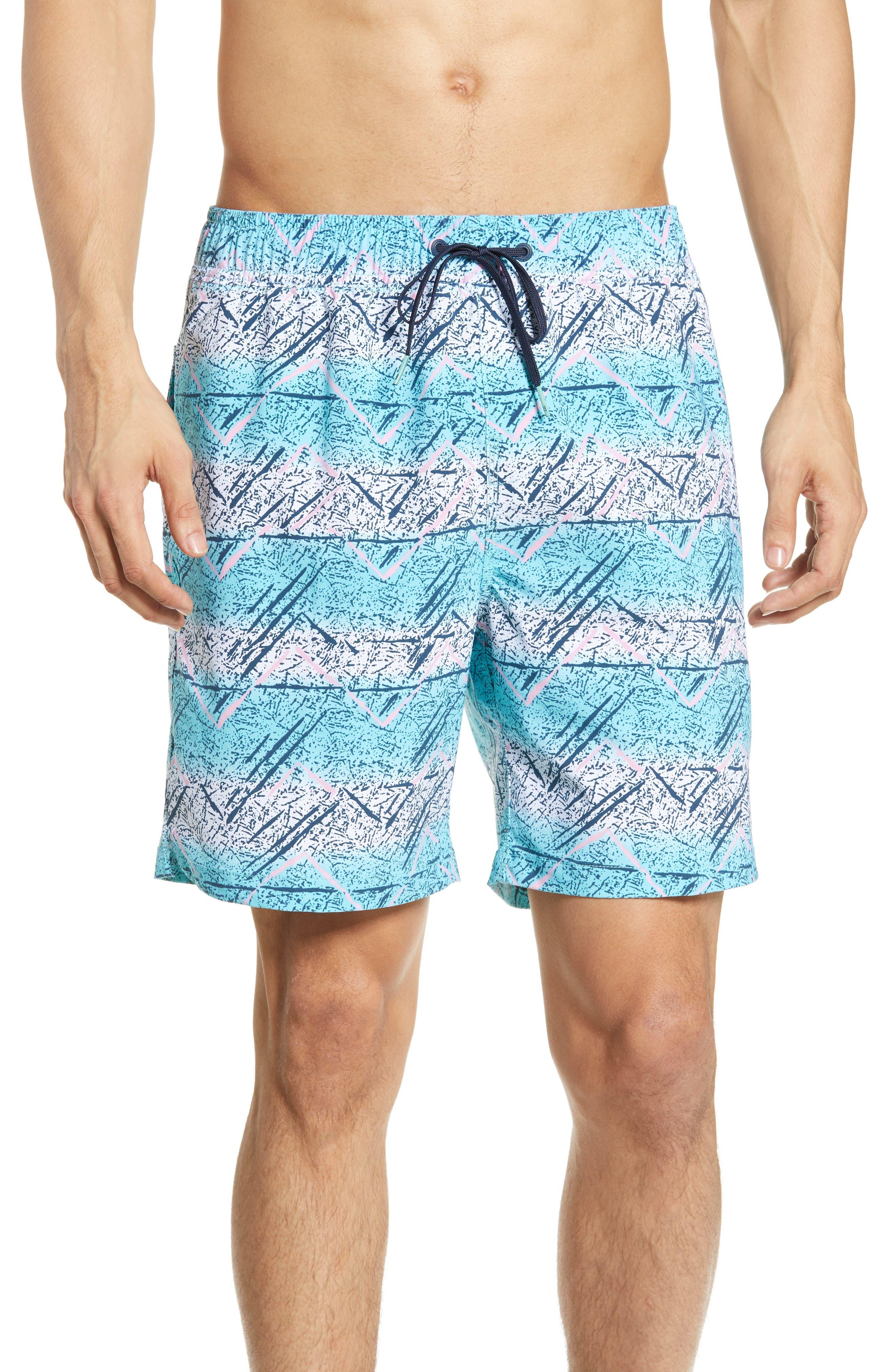 Billabong Sundays Layback Volley Swim Trunks, Blue