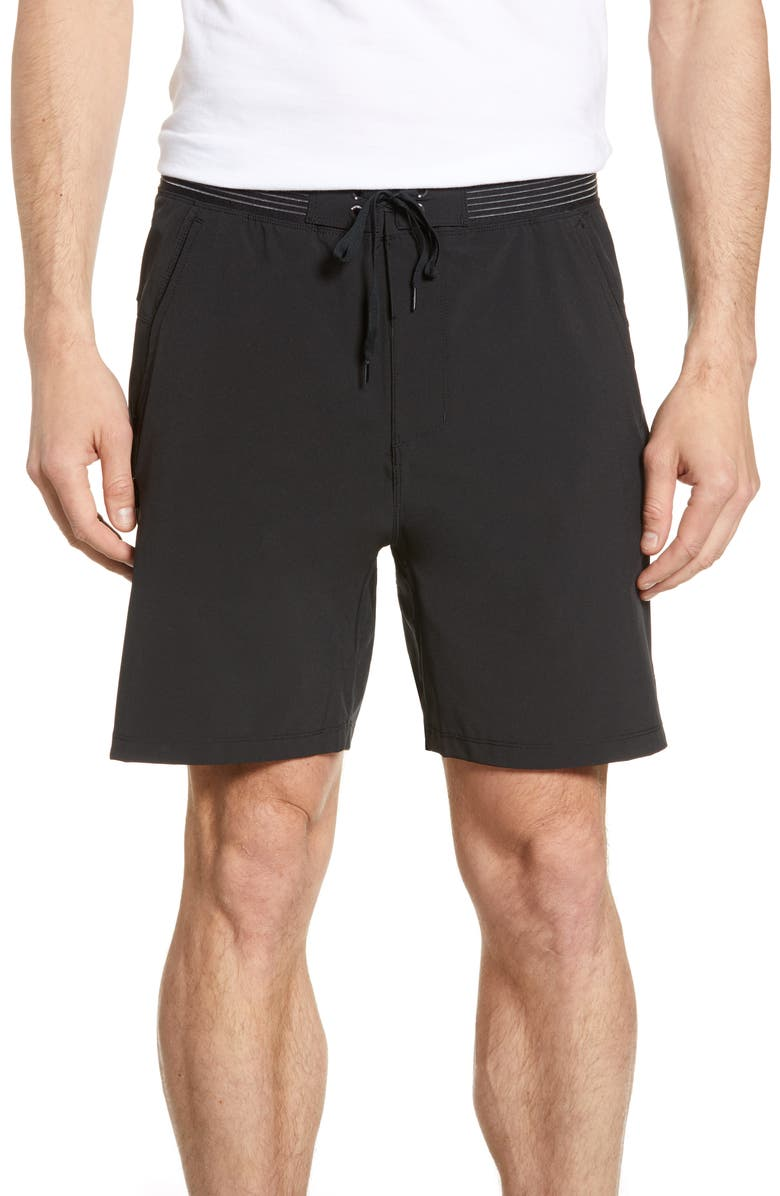 HURLEY Phantom Alpha Trainer Hybrid Shorts, Main, color, 010