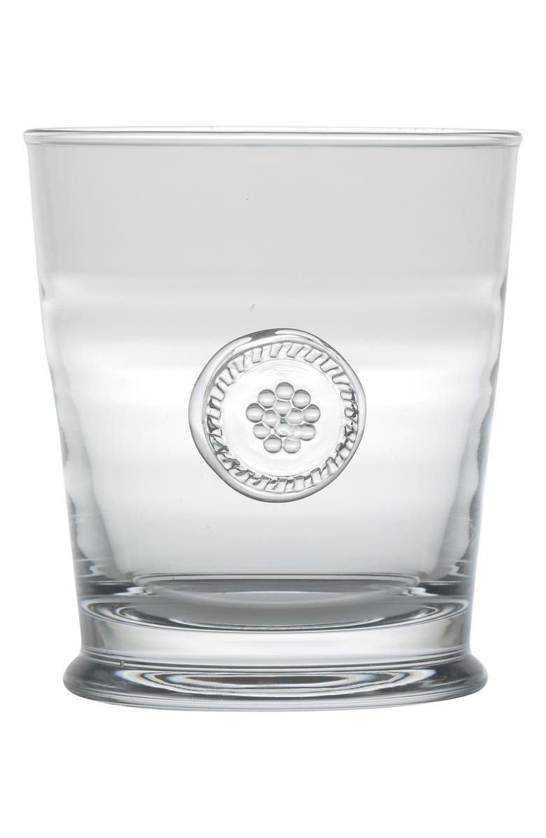 JULISKA 'Berry and Thread' Double Old Fashioned Glass, Main, color, CLEAR