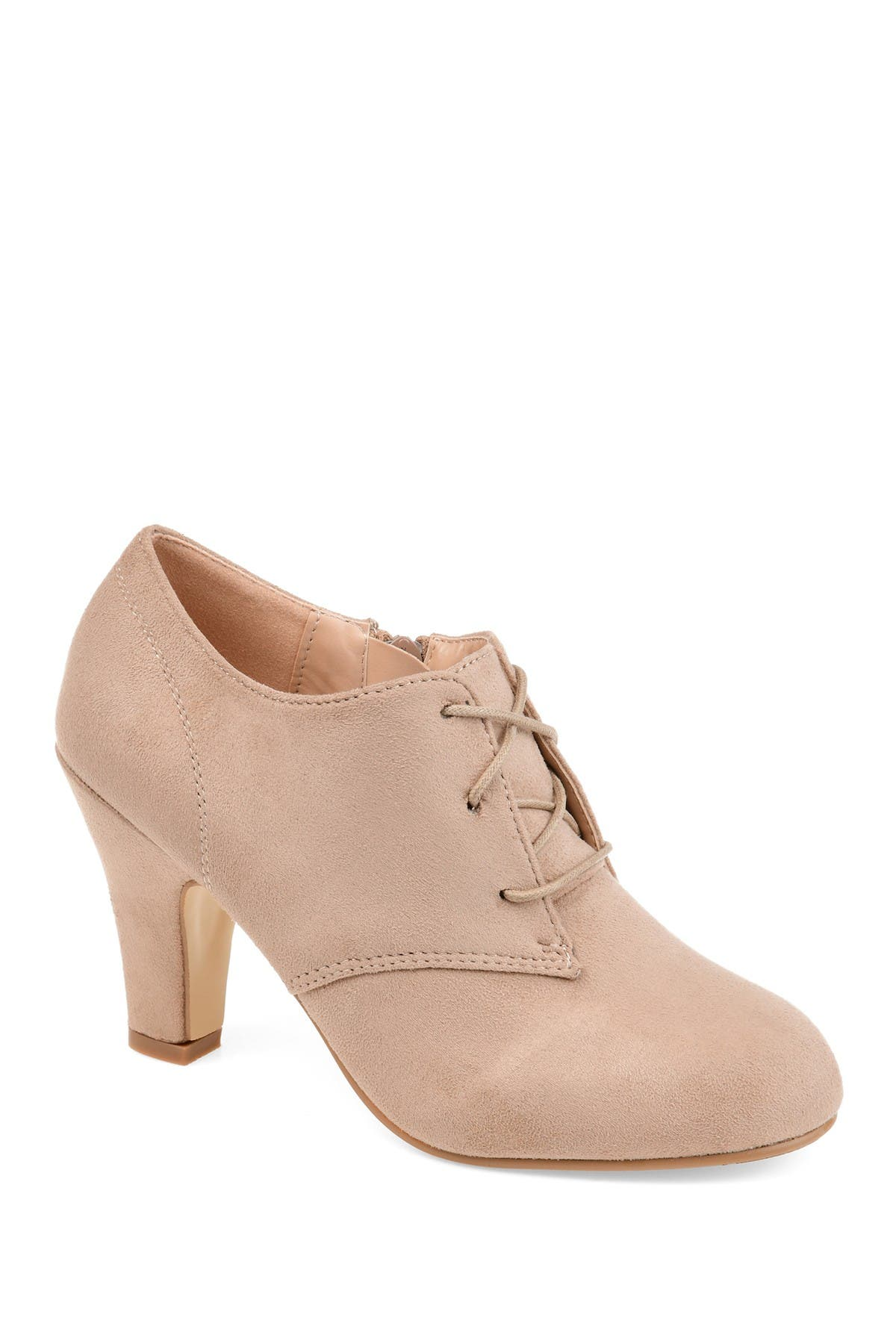Image of JOURNEE Collection Leona Lace-Up Bootie